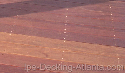 Atlanta Cumaru Decking